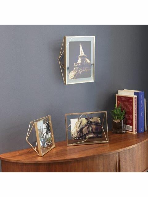 umbra prisma brass group.1524003929 Porta Retrato Prisma UMBRA 20x15x8cm Dourado