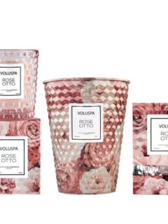 vela rose otto voluspa collection Vela VOLUSPA Rose Otto 14x10cm 100 horas